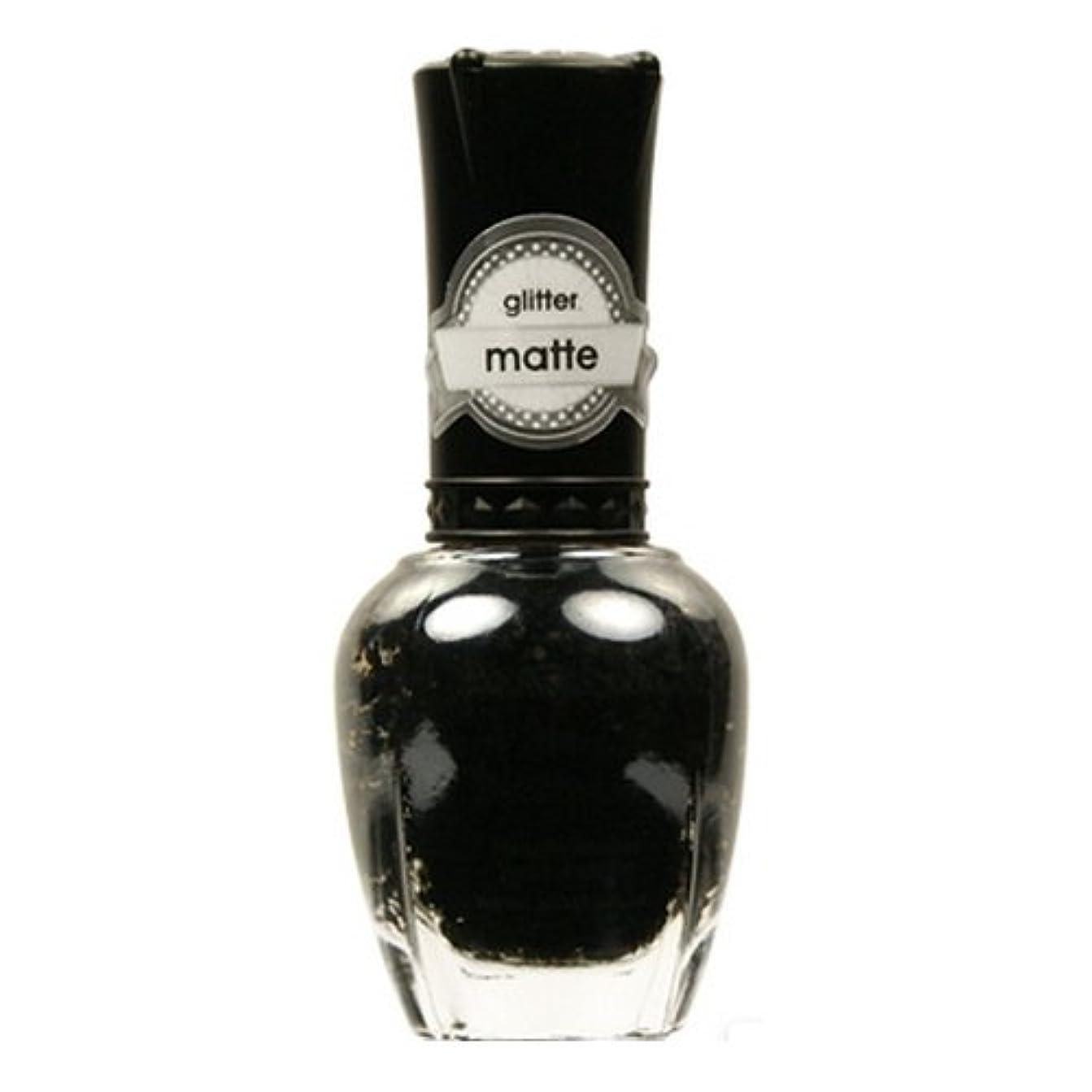 余分な説得力のあるオーバーラン(6 Pack) KLEANCOLOR Glitter Matte Nail Lacquer - Beyond Time & Space (並行輸入品)