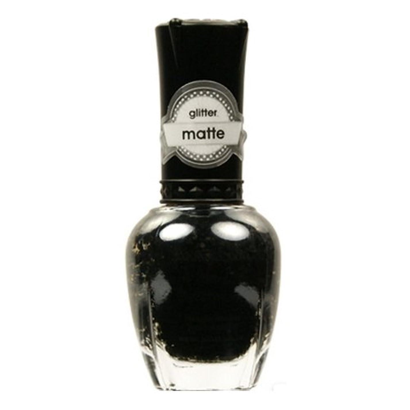 国家資料に頼る(6 Pack) KLEANCOLOR Glitter Matte Nail Lacquer - Beyond Time & Space (並行輸入品)