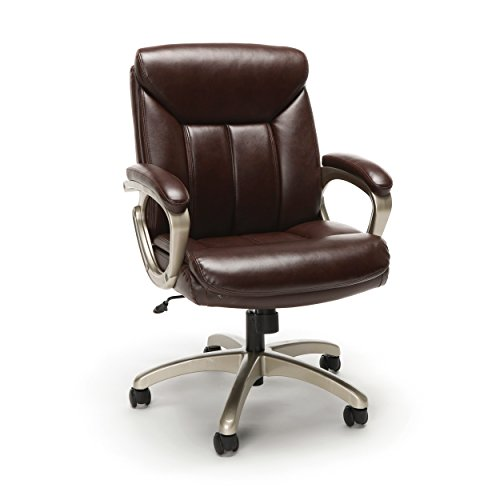 OFM Essentials Collection Executive Office Chair, in Brown with...