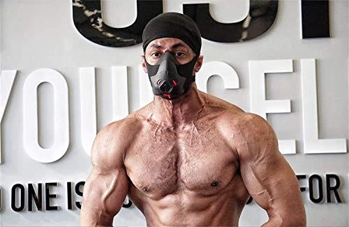 Friorange Sport-Workout-Trainingsmaske,hypoxisch,atmungsaktiv,Fitness,Ausdauer-Maske,Erzielen von Höhenerhöhungen (m)