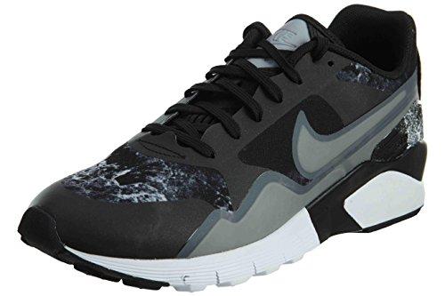 Nike W Air Pegasus 92/16 Print, Scarpe da Corsa Donna, Nero, Grigio, Bianco (Black Wolf Grey White), 38 EU