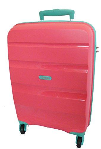 American Tourister Trolley BON AIR Spinner M Coral/Acquamarine art. 59423 0930