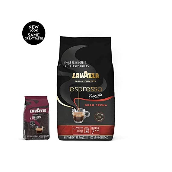 Whole bean coffee blend, 35. 2 oz bag, packaging may vary, medium espresso roast 3 full-bodied dark roast with creamy and full-bodied, with spices notes dark roast blended and roasted in italy