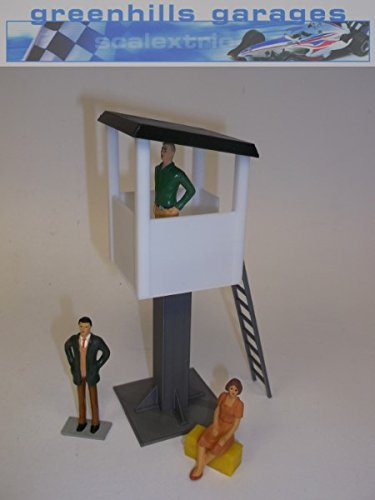 Greenhills Scalextric Slot Car Building White Marshall's Tower 1:43 Scale MACC455