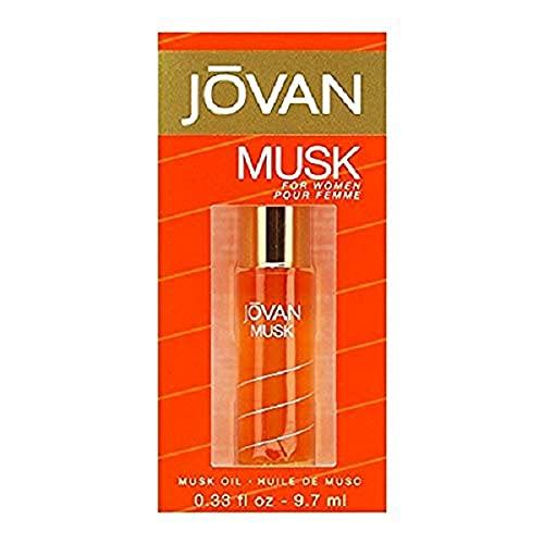 Jovan Musk Perfume Oil, 1er Pack (1x 9.7ml)