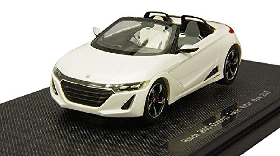 名詞ギャザー含めるエブロ 1/43 ホンダ S660 東京モーターショー 2013 ホワイト 完成品