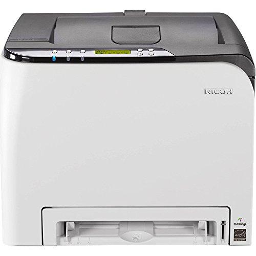 Ricoh SP C250DN Wireless Color Laser Printer (407519),Silver