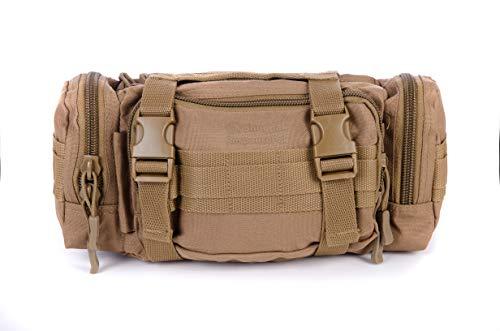 Snugpak ResponsePak Gürteltasche mit MOLLE-Gurtband und Alice-Clip-System, Coyote Tan