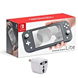 Nintendo Switch Lite - Gray with 128GB SD Card for Nintendo Switch