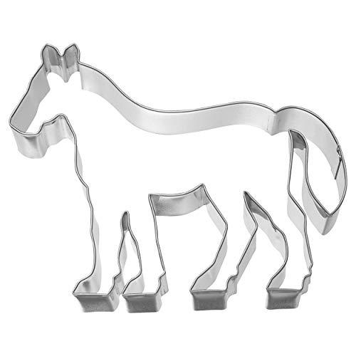 Birkmann 1010717210 Ausstechform Pferd, 11,6 cm, Edelstahl, Grau, 5 x 3 x 2 cm
