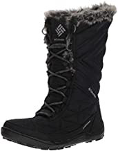 Columbia Women's Minx III Mid Calf Boot, black, ti grey steel, 9 Regular US