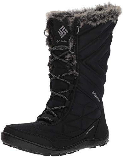 Columbia Women's Minx III Mid Calf Boot, Black, ti Grey Steel, 6.5 Regular US