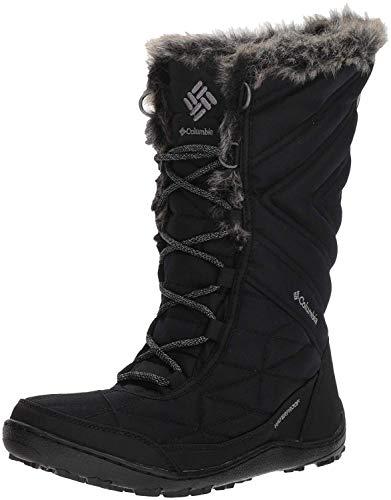 Columbia Women's Minx III Mid Calf Boot, black, ti grey steel, 8 Regular US