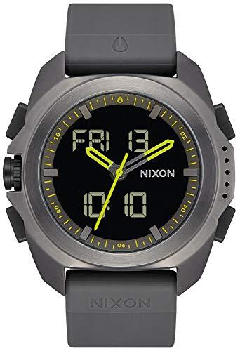 Nixon Ripley Reloj para Hombre Analógico/Digital con Brazalete de Silicona A1267131