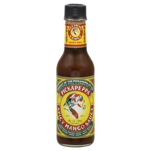 Pickapeppa, Sauce Mango Spicy, 5 FO (6 pack) by Pickapeppa