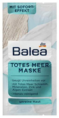 Balea Totes Meer Maske 10er Packung für 20 Anwendungen
