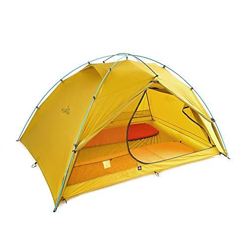 ZEROGRAM El Chalten Pro 2.5 Person Tent, Hiking, Backpacking Lightweight Tent-Sand Moss