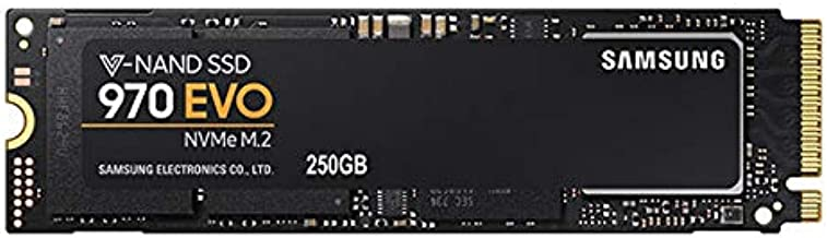 Samsung 970 EVO NVMe Series 250GB M.2 PCI-Express 3.0 x 4 Solid State Drive (V-NAND)