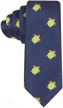 1. Woven Skinny Turtle Necktie