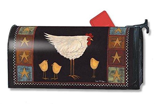 MailWraps Poule et Poussins Boîte aux Lettres Coque # 01114