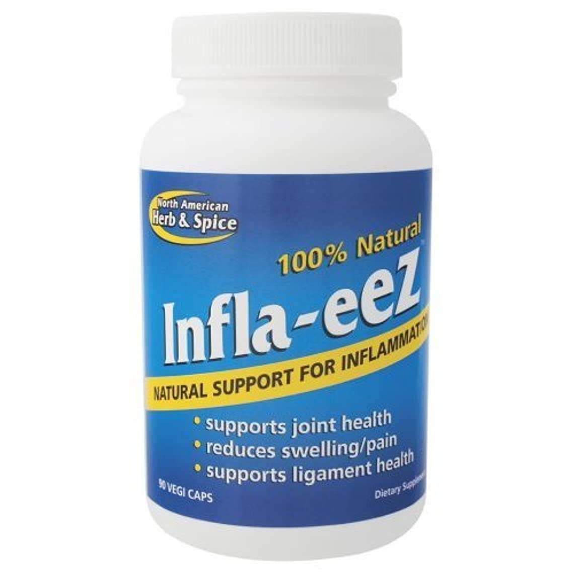 North American Herb and Spice, Inflam-eez Capsules, 90-Count
