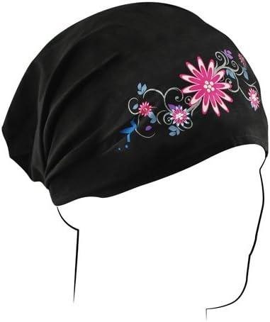Zanheadgear HBHH01 Garden Headwrap (Black)