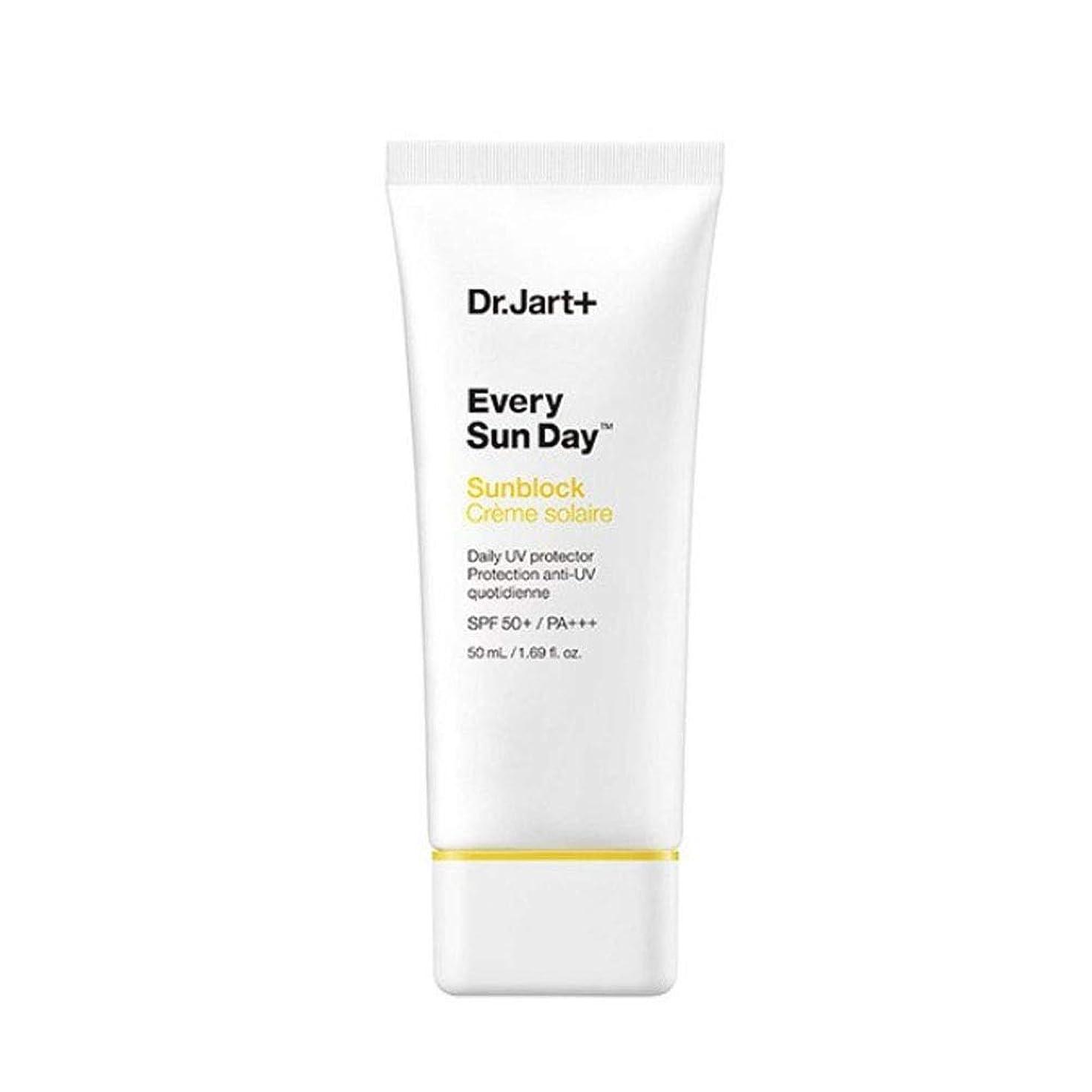 支配的ストリップつま先ドクタージャルトゥエブリサンデーサンブロック50mlサンクリーム韓国コスメ、Dr.Jart Every Sun Day Sun Block 50ml Sun Cream Korean Cosmetics [並行輸入品]