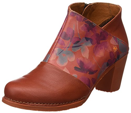 Art Damen Genova Kurzschaft Stiefel, Orange (Fantasy Petalo), 38 EU
