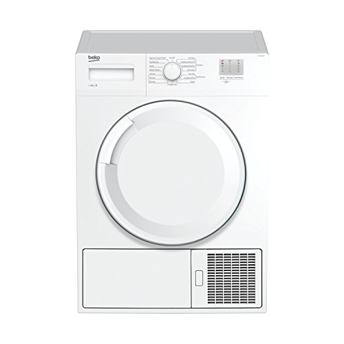 Beko DTGC8000W B Rated 8kg Sensor Condenser Tumble Dryer in White 2 Temps