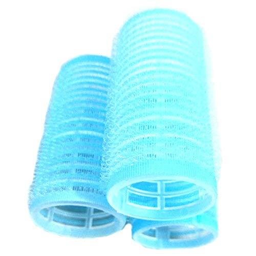 TOOGOO Bleu Prise En Main 30 Mm Boucle De Cheveux Rouleaux (12 Total)