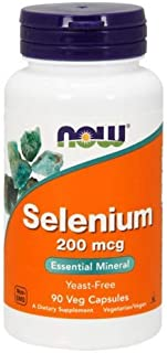 Selenium 200 mcg Yeast Free 90 Capsules (Pack of 2)