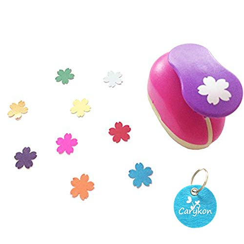 """Caryko 5/8"""" Clever Lever Craft Punch Paper Punch (Sakura)"""