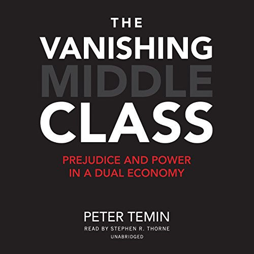 The Vanishing Middle Class audiobook cover art