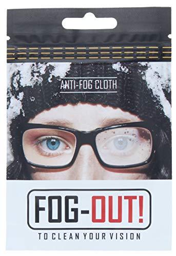 Panno anti appannamento FOG-OUT! efficace, per tutti i tipi di occhiali, visiere e lenti