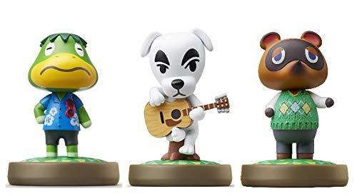 Kapp n - K.K. - Tom Nook Amiibo (Animal Crossing Series) for Nintendo Switch - WiiU  3DS 3Pack (Bulk Packaging)