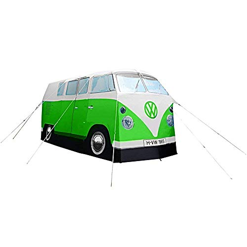 ERRO VW Bulli Camping Bus Zelt im Retro Look - mintgrün in TOP Qualität. - tolles hellem Mintgrün.