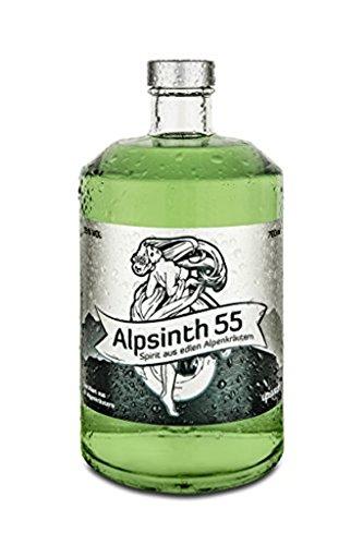Alpsinth 55 Spirito di Erbe - 700 ml