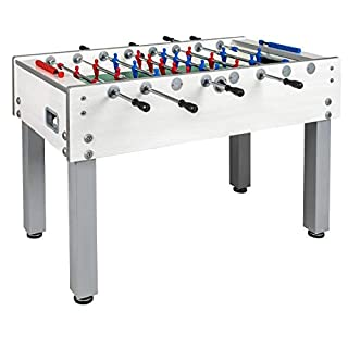 Garlando G-500 White Weatherproof Foosball Table (B07MQBYRB2) | Amazon price tracker / tracking, Amazon price history charts, Amazon price watches, Amazon price drop alerts
