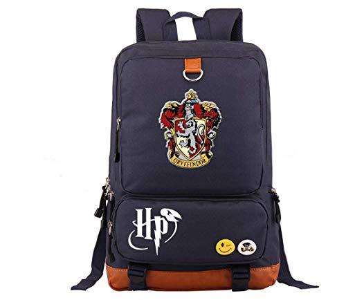 Mochila Bolsa Harry Potter Todas As Casas 8 Cores Exclusiva (GRIFINORIA, AZUL MARINHO)