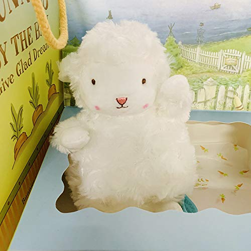 GSDJU 17cm Lovely Bunnies Plush Toy Soft Stuffed Sheep by The Bay Doll Animal Sheep Doll
