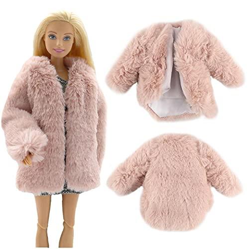 Barbie Ropa Y Accesorios Multicolor De Manga Larga Ropa Suave Ropa Casual para Barbie Muñeca Niños Juguete Juguete