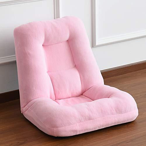 FENDOU Divano Letto Divano Letto in Tessuto, Poltrona Letto Imbottita sfoderabile e Sedile Imbottito sfoderabile Moda (Color : Pink)