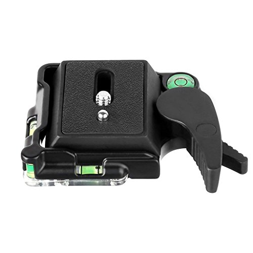 MH652 Compact Quick Release Assembly Platform QR Plates Mount Base with MH642 Plate for Giottos