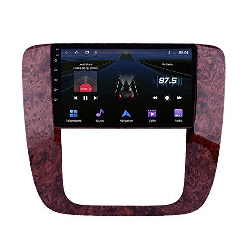 LYHY Radio estéreo para Coche Android 9.0 Compatible con Buick GMC 2007-2012 Navegación GPS Pantalla táctil de 9 Pulgadas Unidad Principal Reproductor Multimedia MP5 Video con 4G WiFi Carplay