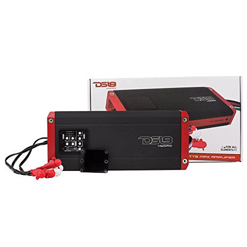 DS18 Hydro NXL800.5D Next Level Full Range Digital Marine 5-Channel 1600 Watts Max Multichannel Amplifier