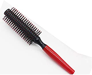 Straight Hair Roller Comb Round Brush Anti-static Hairdressing Tool