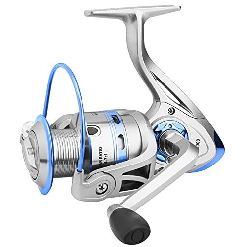 HZPXSB Carrete de Pesca del Lago mar Pesca de Pescado de Agua Dulce 4.7: 1 Equipo de Pesca Carretes de Pesca Pesca Spinning Fake Bait Accesorios de Pesca (Spool Capacity : 6000 Series)