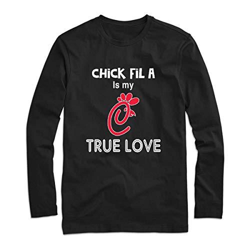 Chíck Fíl Á Is My True Love Chíck Fíl Á Logo Chíck Fíl Á True Love, Chíck Fíl Á Tee Long Sleeve Tee Shirt