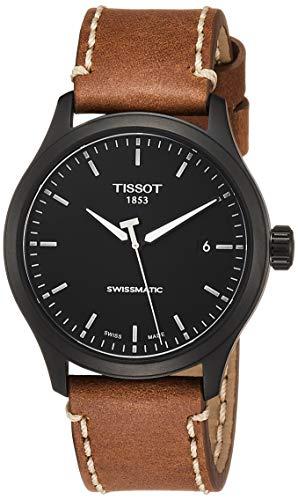 Tissot orologio Gent XL Swissmatic 43mm Acciaio PVD Nero uomo automatico T116.407.36.051.01