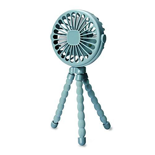 Lvhan Mini Handventilator - Kinderwagen Fan,Tragbar USB Ventilator mit 3 Geschwindigkeiten,360 ° drehbar für Auto,Kinderwagen,Büro und Outdoor